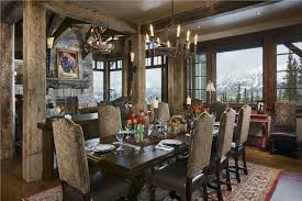 Country Dining Rooms Room25 Best Stunning Rustic Room Ideas