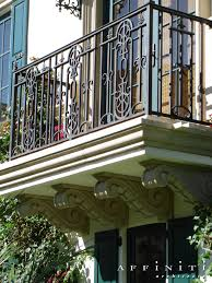 Colonial Mediterranean Wrought Iron Railing - Deck Railing ... Wrought Iron Stair Railing Idea John Robinson House Decor Exterior Handrail Including Light Blue Wood Siding Ornamental Wrought Iron Railings Designs Beautifying With Interior That Revive The Railings Process And Design Best 25 Stairs Ideas On Pinterest Gates Stair Railing Spindles Oil Rubbed Balusters Restained Post Handrail Photos Freestanding Spindles Installing