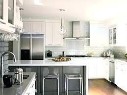 White Kitchen Cabinets Dark Granite Countertops Dove With Taupe