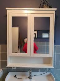 spiegelschrank bad ikea hemnes