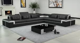 Modern Furniture Sofa Leather Set Living Room With Grey Rugs Tree Frame Fireplace Coffee
