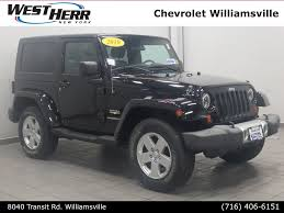 100 West Herr Used Trucks 2010 Jeep Wrangler Sahara CW18P710 For Sale In Williamsville NY