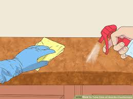 How to Take Care of Granite Countertops with wikiHow