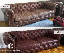 Leather Sofa Dyeing Service