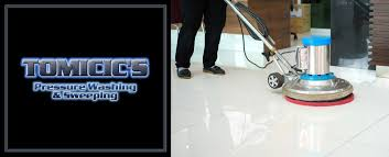 tomicic s pressure washing sweeping service is a pressure