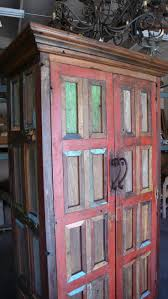 Casamexicanaimports Armoire Made Of Reclaimed Mexican Door Pieces