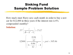 Sinking Fund Calculator Weekly by Chapter 3 Mathematics Of Finance Section 3 Future Value Of An