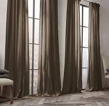 Restoration Hardware Curtain Rod Rings by Restoration Hardware 100 Linen Curtains Drapes U0026 Valances Ebay