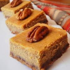 Pumpkin Gingersnap Cheesecake Bars by Pumpkin Cheesecake Recipes Allrecipes Com