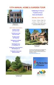 100 Www.home And Garden The Club Of Frankforts Living In History Home And