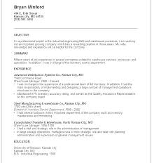 Retail Fashion Resume Objective Examples General