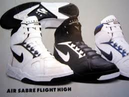 Nike Air Sabre Flight Hi Lo Basketball Vintage