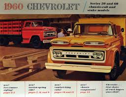 Transpress Nz: 1960 Chevrolet Truck Promo Art