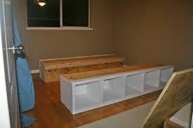 diy platform bed frame this may solve all of my bedroom storage