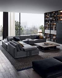 moderne wohnzimmer dekoration ideen farbe möbel und
