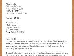 Example Of Resume Service Crew New For Flight Attendant Fresh Cabin Examples
