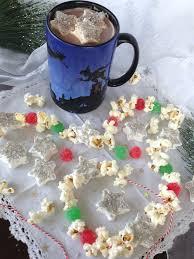 Gumdrop Christmas Tree Garland fiction food café star marshmallows cocoa u0026 gumdrop garland