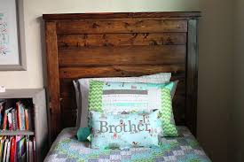 Ana White Headboard Plans by Beingbrook Shared Bedroom Boy And Building