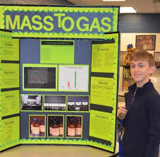 Overall Taylor Elementary Science Fair Winner Was Aiden Robertson With His Project Mass To Gas