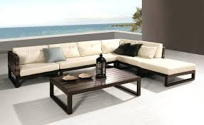 Patio Modern Outdoor Furniture Contemporary Sofa Seating Sets Aluminum