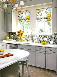 Full Image For Yellow And Gray Kitchen Decor Grey Ideas Valance