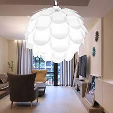 Excelvan Creative DIY KIT Pinecone Shape Puzzle Lampshade IQ PP Suspension Ceiling Pendant Chandelier Light Shade