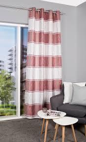 home wohnideen vorhang luey mit glanzgarn