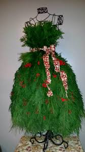 3ft Pre Lit Christmas Tree by 279 Best Dress Form Christmas Trees Images On Pinterest Dress