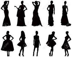 Gown Clipart Womens Dress 5