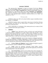 UnifiedOnline, Inc. - FORM 10-Q - EX-10.2 - CHANBOND, LLC PURCHASE ... Voippalcom Inc Provides Update On Recent Company Developments Logicquest Technology Form 8k Ex43 Series D Voippal Issues A Correction To Its Press Release Of September Structural Integrity For Additive Manufacturing By Sigma Labs Stocks Uptick Newswire Dd429x New Cctv Spectra Iv Se 29x Dome Drive Pal Voippalcom Vplm Stock Chart Technical Analysis 1205 Carl Schwartz Ceo Skyline Medical Skype Interview Nasdaqskln An Evening With Steve Miller Band At The 2015 North American Dahua Dhipchdbw2421rpzs 4mp Ir Pal Motorised Network Endeavor Ip Inc 10q Ex212b Stock Transfer Teledynamics Product Details Gsgxv3500