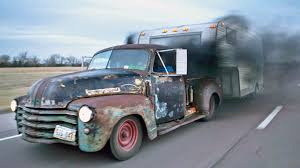 Badass Diesel Turbo RAT ROD Pickup - YouTube