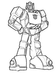 Bumblebee Transformer Coloring Page Pages