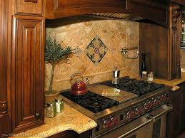 Kitchen Backsplash Ideas With White Cabinets Rustic Design For Small Spaces Brown Varnished Wood