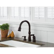 Delta Linden Waterfall Kitchen Faucet by 3 Hole Kitchen Faucets Get A Three Hole Kitchen Sink Faucet