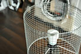 DIY Wire Lampshade