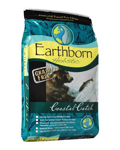 Earthborn Holistic Grain Free Dog Food - Coastal Catch, Dry, 28lb
