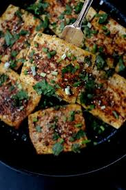 spicy griddled tofu steaks the woks of