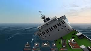 sinking of albtaros iv ship sim extremes youtube