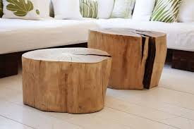 lovely tree stump end tables chairs video and photos
