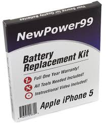 Apple iPhone 5 Battery Replacement Kit Extended Life