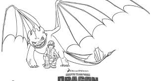 Coloring Pages Of How To Train Your Dragon Luxury Hiccup And Night Fury
