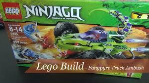 100 Fangpyre Truck Ambush Lets Build Lego Ninjago Set 9445 Part 1
