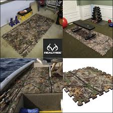 Realtree Floor Mats Blue by New Realtree Xtra Camo Floor Composite Tiles These Camp Floor