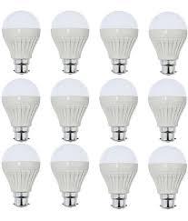 parax 9 watt standard 2 pin led bulb by onshpdeals