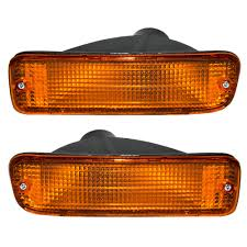 95-97 Toyota Pickup Truck 2WD Set Of Front Park Signal Marker Lights ... Buy 10 Pcs Tmh 25 Red Light Lens Super Flux Side Led 5x264146cl Amber Led Cab Roof Marker Running Lights Clear For Atomicdsobingcabmarkightsfordtruckamberlens Chicken Lightsmarker Lights Lets See Some Pics Of Em Page 2 Truck Marker Youtube 5xteardrop Yellow Top Clearance For Szhen Idun Photoelectric Technology Co Ltd Truck Bragan Specific Hand Polished Stainless Steel Under Bumper Low 12v 24v Lamp Car Trailer Shop 100 Waterproof Universal 2011 Ford F150 Fx4 Raptor Inspired Grille