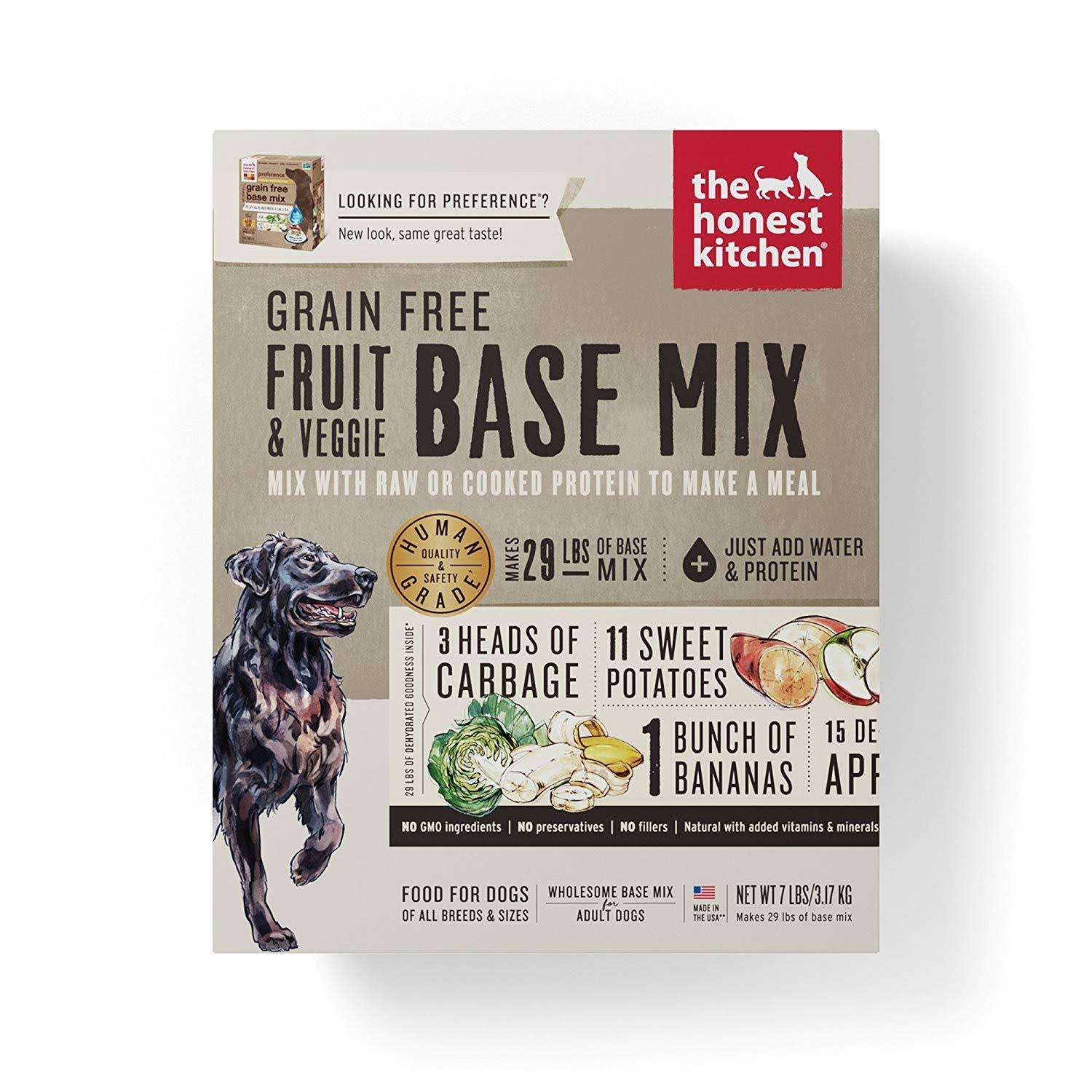 The Honest Kitchen Preference Base Mix 7lb Grain Free Dehydrated Dog Food