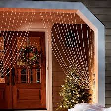 Brylane Home Lighted Curtains by 25 Unique Christmas Curtain Lights Ideas On Pinterest Christmas
