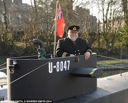 Boat Captains Chair Uk by Self Styled U Boat Captain Who Lived In Narrowboat Converted To