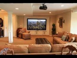 DIY Basement family room decorating ideas