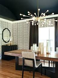 Double Chandelier Over Dining Table Room Chandeliers Transitional Of Fine